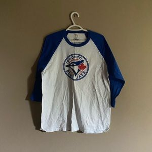 Toronto Blue JaysxBacardi Three Quarter Sleeve Top